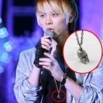 สร้อยคอเงินรูปกะโหลก แบบ Jonghyun