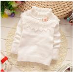 เสื้อ สีขาว แพ็ค 4ชุด ไซส์ 4-6-8-10