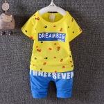 ชุดเซต Dream Big สีเหลือง [size 6m-1y-2y-3y]