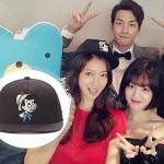 หมวกแฟชั่นเกาหลี เบสบอล Pinocchio ปาร์คชินเฮ