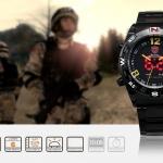 นาฬิกาข้อมือชายแฟชั่น Shank Sport watch SH099