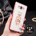 เคส Samsung Galaxy J3 ซิลิโคน TPU ขอบทอง / โรสโกลด์ สวยงามมากๆ หรูหราสุดๆ ราคาถูก