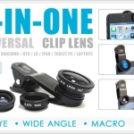 3IN1 Universal Clip Lens