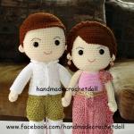 ตุ๊กตาแต่งงานชุดไทย แบบ1