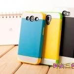 เคส Note 2 NX CASE เคสซิลิโคนสีเจ็บๆ สลับสีสวยๆ มีแผ่นพลาสติกครอบด้านนอกอีก 1 ชั้น เท่ๆ สวยๆ