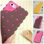 case iphone 5 เคสไอโฟน5 crackers 3D Silicone น่ารัก+น่ากิน ^^