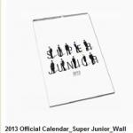 ปฎิทินผนังSuper Junior : 2013 Offical Calendar [Wall]