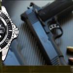 นาฬิกาข้อมือชาย SHARK ARMY SAW014
