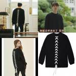 เสื้อแขนยาว (Sweater) เชือกถักด้านหลัง แบบ Lee Dong Wook ในซีรี่ย์ Goblin