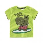 เสื้อลายฮิปโปสีเขียว [size 2y-3y-4y-5y-6y-7y]