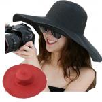 [พร้อมส่ง] H7186 หมวกสานปีกกว้าง หมวกใส่ไปเที่ยวทะเลใบโต๊โต กันแดดได้ดี
