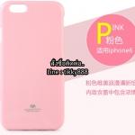 เคส iPhone 6/6s แบรนด์ Goospery (Mercury Jelly Case) สีชมพูอ่อน