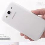 เคส Samsung Galaxy Mega 5.8 เคสซิลิโคนใสโปร่งแสงผิวด้าน มีจุกปิดกันฝุ่นในตัว สวย บาง เรียบ เคสมือถือขายปลีกขายส่งราคาถูก