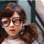แว่นตา (UV400) ลายเสือดาว แพ็ค 5อัน ฟรีไซส์