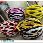 หมวกจักรยาน X-FOX ,LW815 (IN-MOLD)มีสีแดง