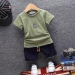 ชุดเซต OK สีเขียว [size 6m-1y-2y-3y]