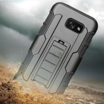 เคส Samsung A3 (2017) เคสกันกระแทก สวยๆ ดุๆ เท่ๆ แนวอึดๆ แนวทหาร เดินป่า ผจญภัย adventure มาใหม่ ไม่ซ้ำใคร ตัวเคสแยกประกอบ 2 ชิ้น ชั้นในเป็นยางซิลิโคนกันกระแทก ครอบด้วยแผ่นพลาสติกอีก1 ชั้น สามารถกาง-หุบ ขาตั้งได้