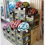 หมวกจักรยาน SUPER D,S-555 งาน Inmold