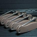 Spyderco ParaMilitary2 S35VN Satin Blade, Earth Brown G10 Handles C81GPBN2