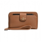 Preorder COACH BOXED POCKET UNIVERSAL PHONE WALLET IN LEATHER Style No: 63163B