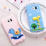 เคส Samsung Galaxy s6 ซิลิโคน TPU 3 มิติ การ์ตูนหลากหลายแบบน่ารักๆ ราคาถูก -B-
