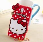 case note 3 เคส Samsung Galaxy note 3 Hello Kitty คิตตี้ซิลิโคน 3D น่ารักมาก ราคาส่ง ขายถูกสุดๆ -B-