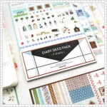 Iconic Diary Deco Pack