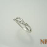 แหวนเงินไวท์โทปาซ(Silver ring white Topaz)