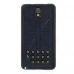 Case Samsung Galaxy Note 3 >> Rivet Union Jack Leather Skin