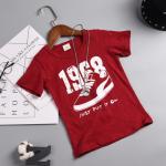 เสื้อ สีแดง แพ็ค 5 ชุด ไซส์ 7-9-11-13-15