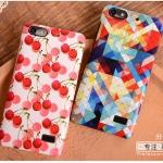 เคส Huawei G Play mini พลาสติกเคลือบเงาสกรีนลายดอกไม้ กราฟฟิค สวยงามมากๆ ราคาถูก