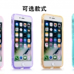 Case iPhone 7 Plus (5.5 นิ้ว) ซิลิโคน TPU soft case แบบฝาพับโปร่งใสสีต่างๆ สวยงามมากๆ ราคาถูก