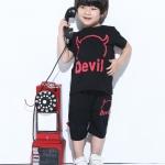 ชุดเซต Devil สีดำ [size 1y-2y-3y-4y-5y]