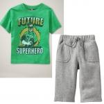 PJA064 เสื้อผ้าเด็ก ดลำลอง Future Super Hero แนวสปอร์ต baby Gap Made in Malasia งานส่งออก USA เหลือ Size 80