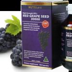 สารสกัดเมล็ดองุ่น Nutriland Grape seed 30000 mg ดีที่สุด เข้มข้นสูงสุด ทานแล้วต้องติดใจ