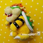 Bowser Super Mario ตุ๊กตาซุปเปอร์มาริโอ เม็ดถ่วงน่ารักจ้า