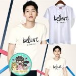 เสื้อยืด (T-Shirt) Believe แบบ Joongki
