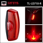 CATEYE ไฟท้ายกระพริบแคทอาย RAPID X2, TL-LD710-R, สีแดง