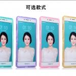 Case OPPO R7S ซิลิโคน TPU soft case แบบฝาพับโปร่งใสสีต่างๆ สวยงามมากๆ ราคาถูก