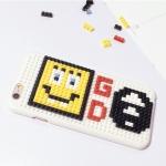 เคส iPhone 6s / iPhone 6 (4.7 นิ้ว) พลาสติกแบบตัวต่อเลโก้ น่ารักมากๆ ไม่ซ้ำใคร ราคาถูก