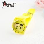 นาฬิกา MY EXO สีเหลือง (กันน้ำ)