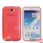 เคส Note 2 Case Samsung Galaxy Note 2 II N7100 เคสซิลิโคนนิ่มๆ ใสๆ บางๆ ไม่ทำให้ตัวเครื่องเป็นรอย มีหลายสี สวยๆ transparent frosted silicone