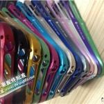 case iphone 5 เคสไอโฟน5 ขอบเคสโลหะอลูมิเนียมสวยแกร่ง pure aluminum metal border