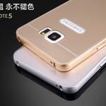 Case Samsung Galaxy Note 5 แบบประกอบ 2 ชิ้น ขอบเคสโลหะ Bumper + พร้อมแผ่นฝาหลัง PC สวยมากๆ ราคาถูก ราคาส่ง ราคาปลีก