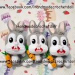 ตุ๊กตาถัก กระต่ายบันนี่