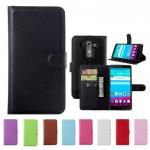 เคส LG G4 แบบพับหนังเทียมสีสันสดใส สีเข้มขรึมคลาสสิค ราคาถูก