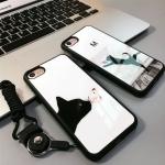 Case iPhone 7 (4.7 นิ้ว) พลาสสติกลายแมวน้อยน่ารักมากๆ ราคาถูก (ไม่รวมสายคล้อง)