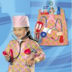 ชุดพยาบาล+อุปกรณ์ตามรูป แพ็ค 3 ชุด ไซส์ 46*38 cm (เหมาะสำหรับ 3-8 ขวบ)
