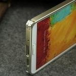 เคส note 3 Case Samsung Galaxy note 3 ขอบเคส Bumper โลหะ aluminum เชื่อมต่อโดยตัวล๊อคเฉพาะของเคส ไม่ต้องไขน๊อต เท่ๆ