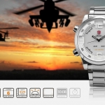 นาฬิกาข้อมือชาย Shark Sport Watch SH104